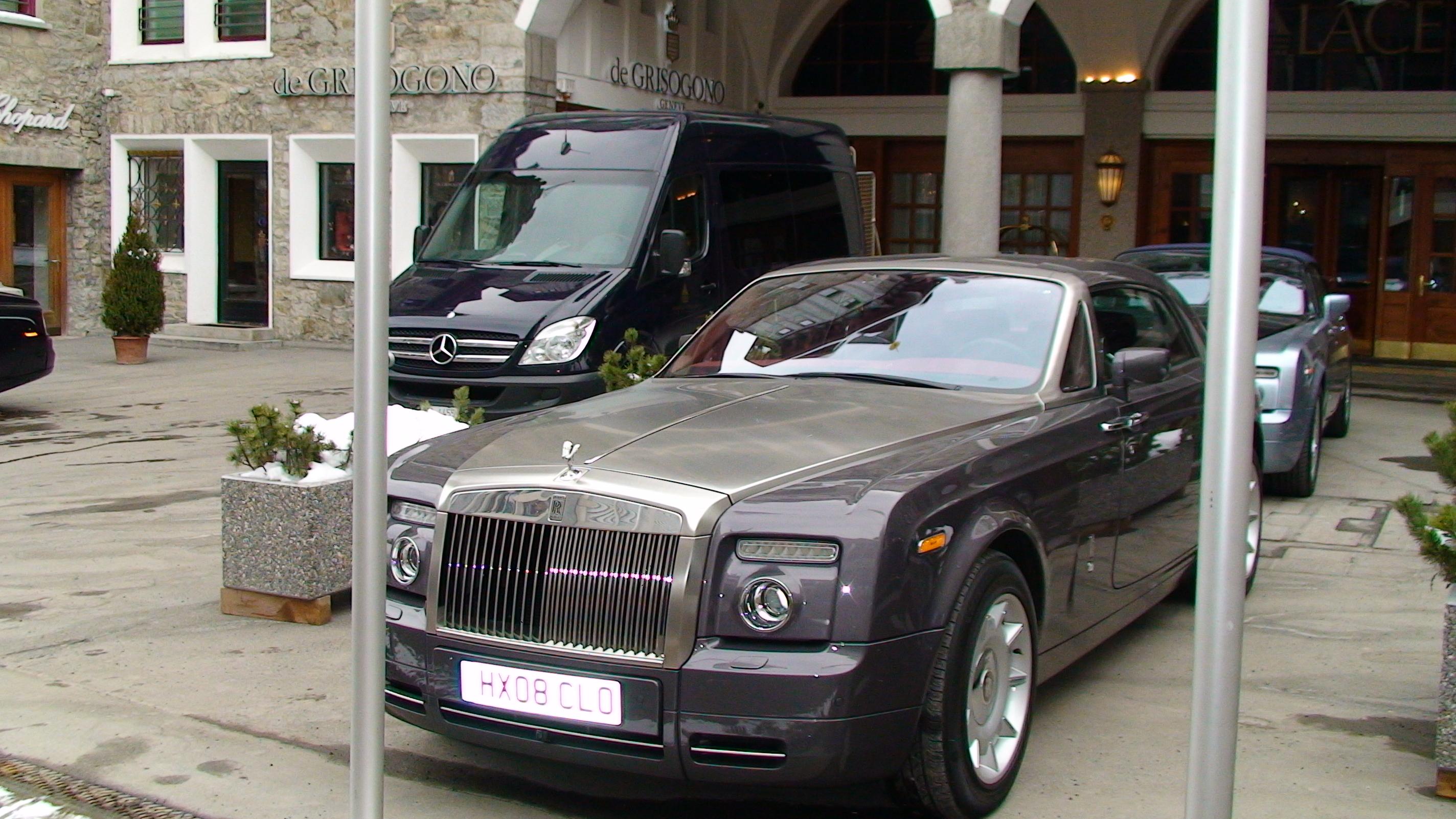 Машины в Сан Морице